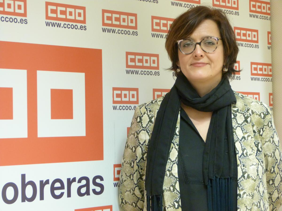 Carolina Vidal. Secretaria regional de Acción Sindical y Formación Sindical