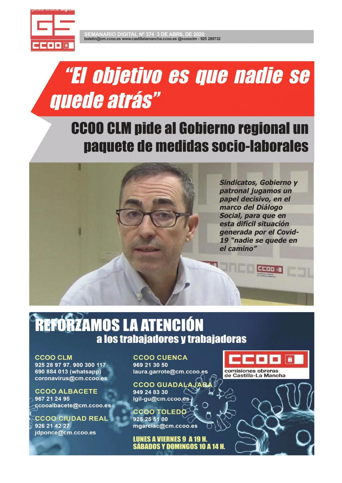 Gaceta Sindical 374